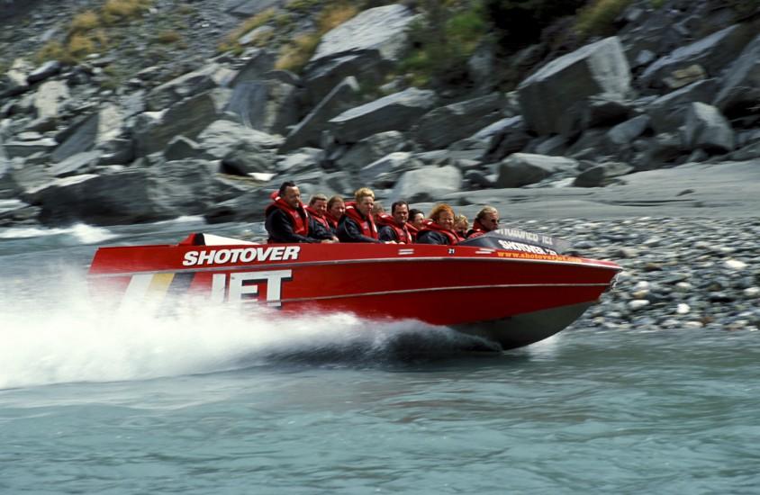 Nouvelle Zélande, jet boat