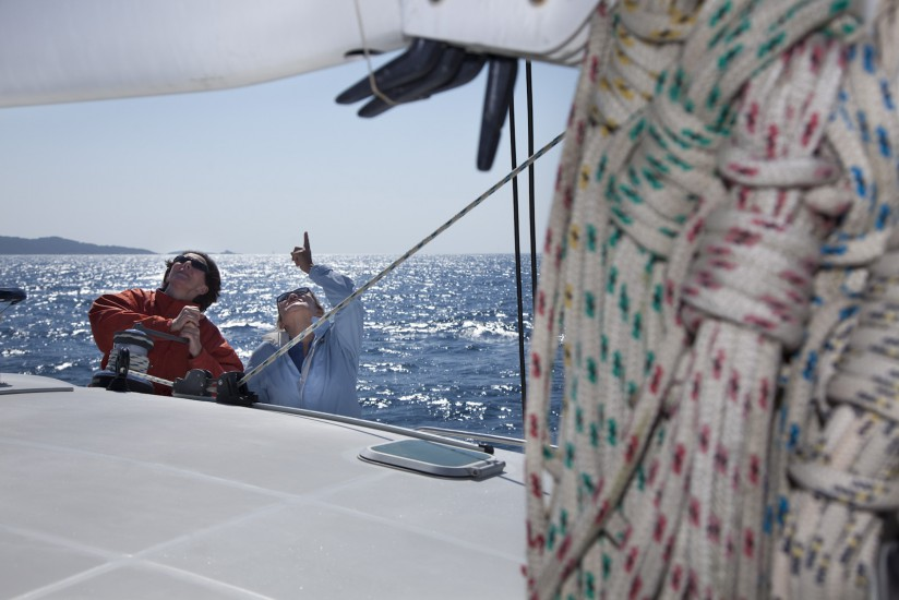 voilier en navigation