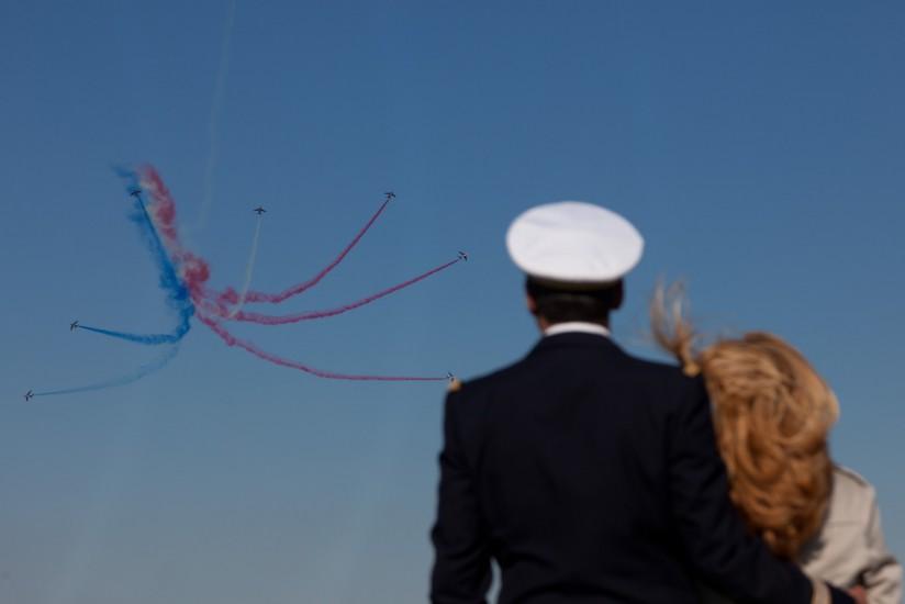 La Patrouille Acrobatique de France ou PAF de l'armée de l'air