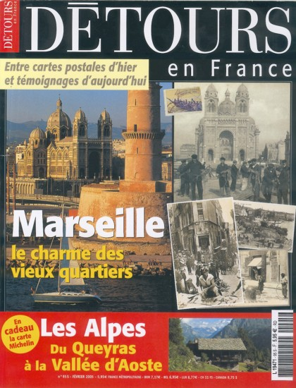 Couverture du magazine Détours-en-France