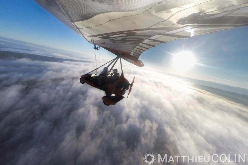 Vol en ULM pendulaire Tarnag 912 Air Creation Bionix