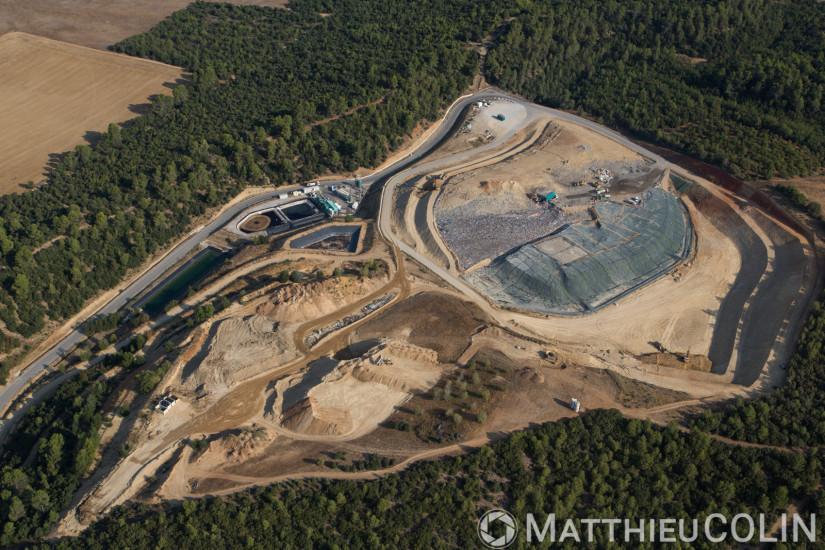 Installation de stockage des déchets non dangereux (vue aérienne)