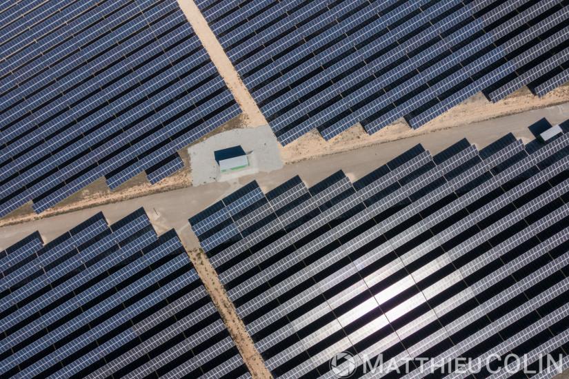 Centrale solaire photovoltaique au sol de Moussoulens