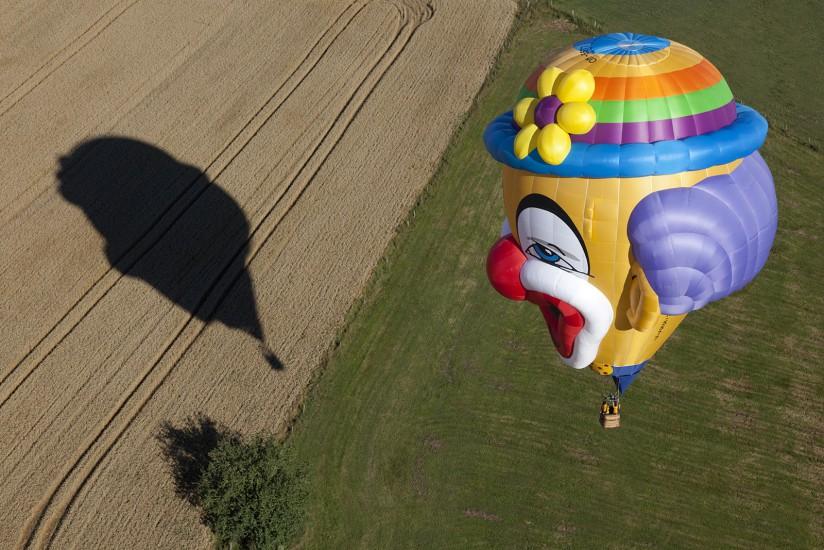 FRANCE - Lorraine - Meurthe-et-Moselle, Moselle et Meuse - Lorraine Mondial Air Ballons. Vues aériennes du plus grand rassemblement d'Europe de montgolfières avec plus de 400 ballons et du lac de Madine (79 photos)  Voir le reportage sur Divergence-Images