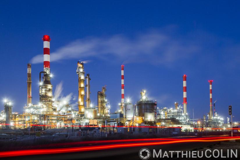 Martigues, raffinerie Petroineos