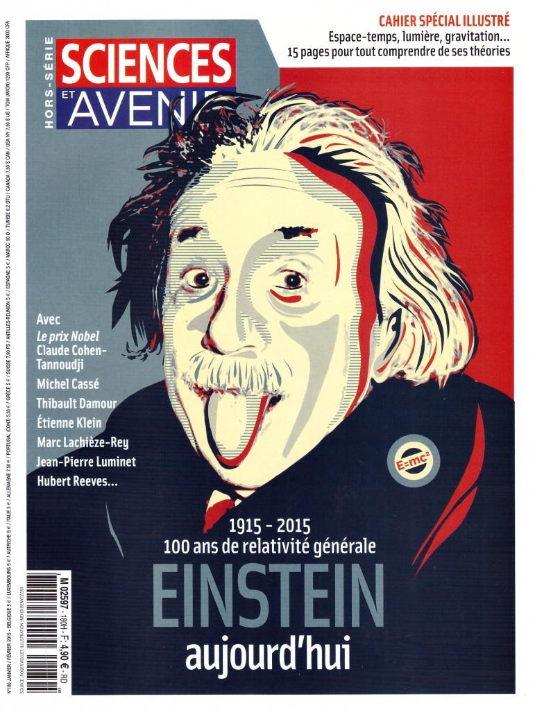 Sciences & Avenir - Hors-Série Einstein 2015 - Couverture