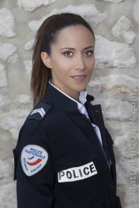 France, Bouches-du-Rhône, Plus Belle La Vie, Prime N°16, l'actrice Fabienne Carat (Samia)