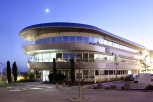 France, Bouches-du-Rhône  (13), Marseille, l'Estaque, Zac de Saumaty, ABB France, DCS Collaboration Arena