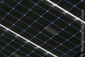 Centrale solaire sur serre agricole en Ardèche