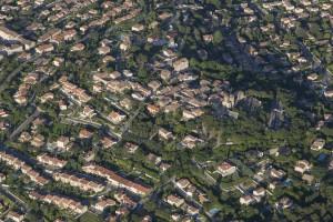 France, Bouches-du-Rhône (13), Venelles (vue aérienne)