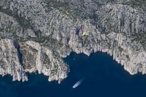 rance, Bouches-du-Rhône (13), Marseille et Cassis, Parc National des Calanques, massif des calanques, Eissadon, l'oule  (vue aérienne)
