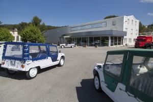 France, Bouches-du-Rhône (13), Cassis, 2CV - Mehari Club Cassis