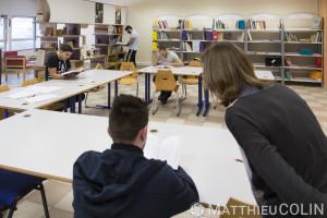 France, Bouches-du-Rhône (13), Aix-en-Provence, Aix-Les-Milles CFA BTP (Centre de Formation d'Apprentis Bâtiment Travaux Publics) d'Aix en Provence