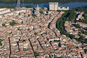 France, Bouches-du-Rhône (13), Tarascon (vue aérienne)
