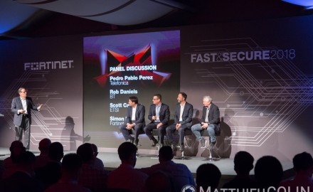 Monaco, Meridien beach plaza, conference center, Fortinet, Fast & Secure 2018