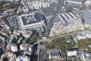 France, Val de Marne (94), Vanves, Paris (75), Périphérique, Parc des expositions de Paris (vue aérienne)