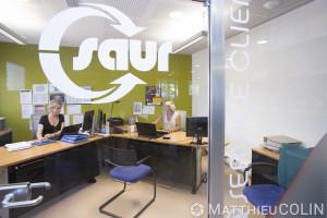 France, Gard (30), Nîmes, groupe Saur, accueil clientèle, 102 Allée de l'Amérique Latine