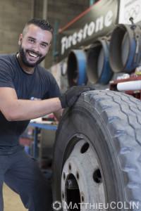 France, Gard (30), Alès, Coté Route, groupe Ayme, pneu et entretien auto, révision, freins, amortisseurs, géométrie