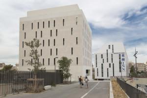 France, Bouches du Rhone (13), Marseille, Résidence étudiante Sens, Logi Méditerranée