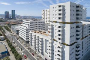 France, Bouches du Rhone (13), Marseille, Rue Allar, 13015, éco-quartier Smartseille, EcoCité Euroméditerranée, Résidence Horizon