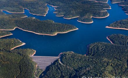 Lac de Pierre-Percée en Meurthe-et-Moselle